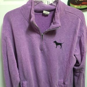 "Purple ""Pink"" Quarter Zip Sweatshirt"
